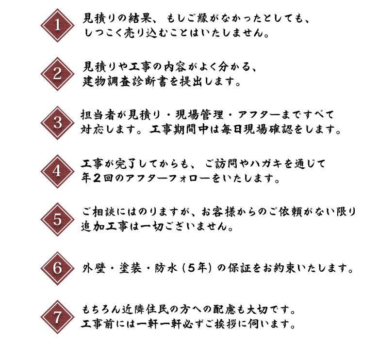 7つの約束